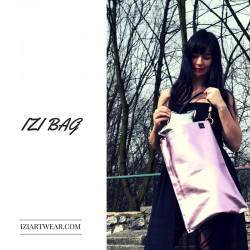 Izibag torebka i plecak w jednym hot pink