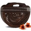 Frida koszyk torebka z drewna