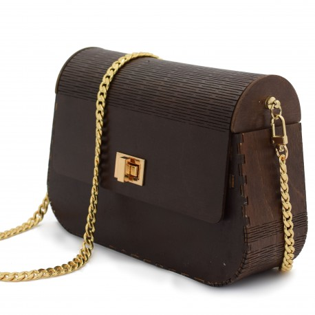 Wooden bag - torebka z drewna